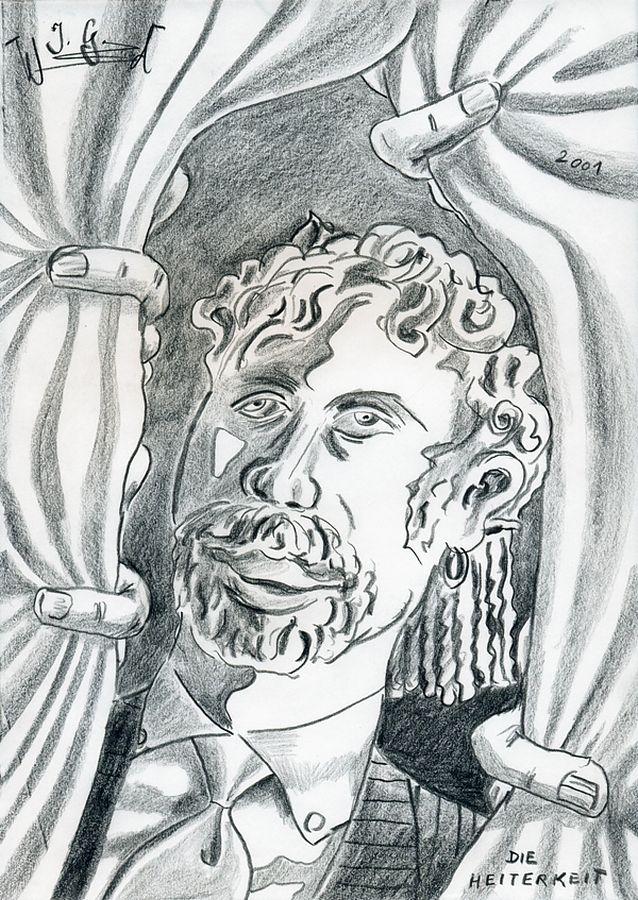 Die Heiterkeit (als philosophischer Begriff) [The Mirth (as a philosophical term)], 2001 by J.G.Wind - Metaphysisches Porträt