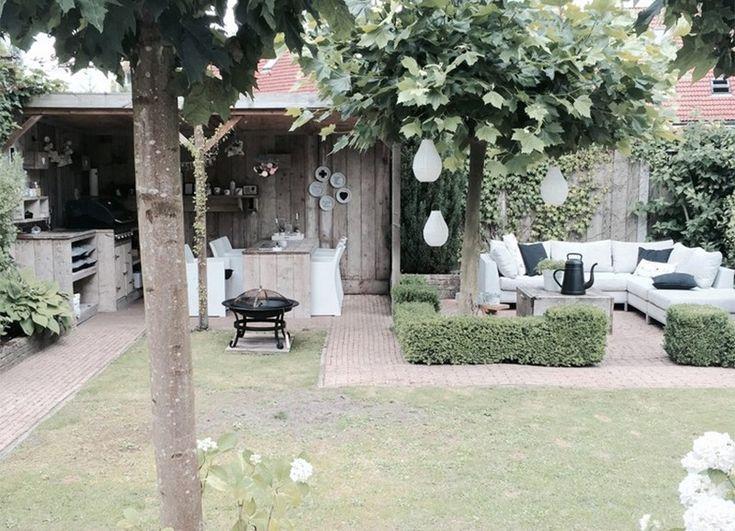209 best Outdoor images on Pinterest Backyard patio, Garden - wasserfall garten wand