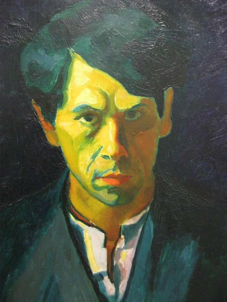 Czigany Dezso, (1883-1937) Autoportrait, 1909