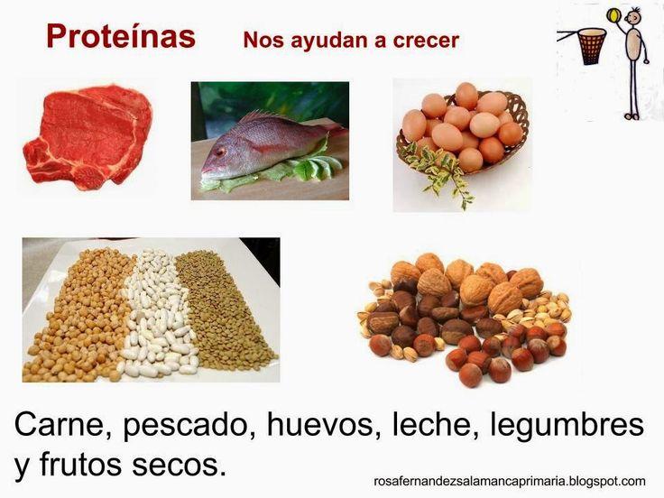 Maestra de Primaria: Los alimentos: vitaminas, hidratos de carbono, proteínas y grasas.