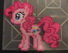 Billedresultat for perler beads my little pony pattern pinkie pie