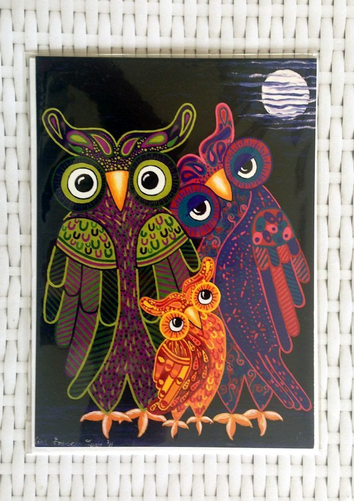 Owl I Want Is You Card