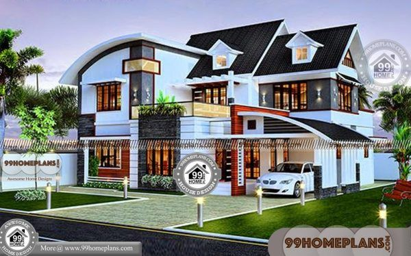 4 Bedroom House Plans Cheap To Build Best Mind Blowing Home Ideas Kerala House Design House Architecture Design Contemporary House Design