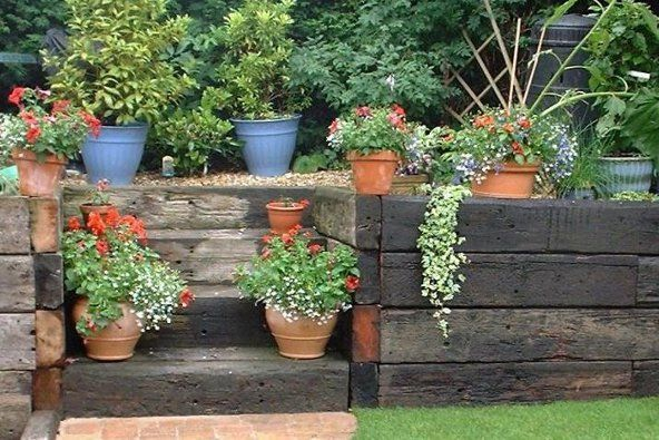 Landscaping & Retaining Walls - see Landscaping Ideas on WoodSolutions