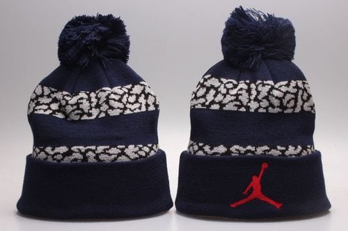ad1288149 Air Jordan Winter Outdoor Sports Warm Knit Beanie Hat Pom Pom | Air ...