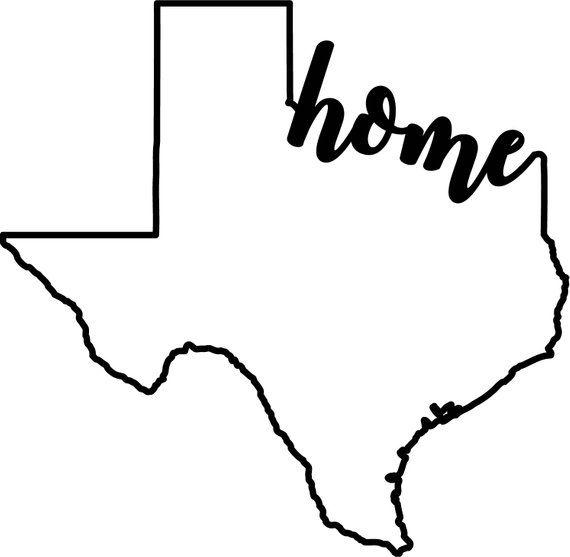Texas Home Ai Eps Jpg Png And Svg Clipart Vinyl Stencil Etsy Texas Silhouette Texas Shirts Texas Logo
