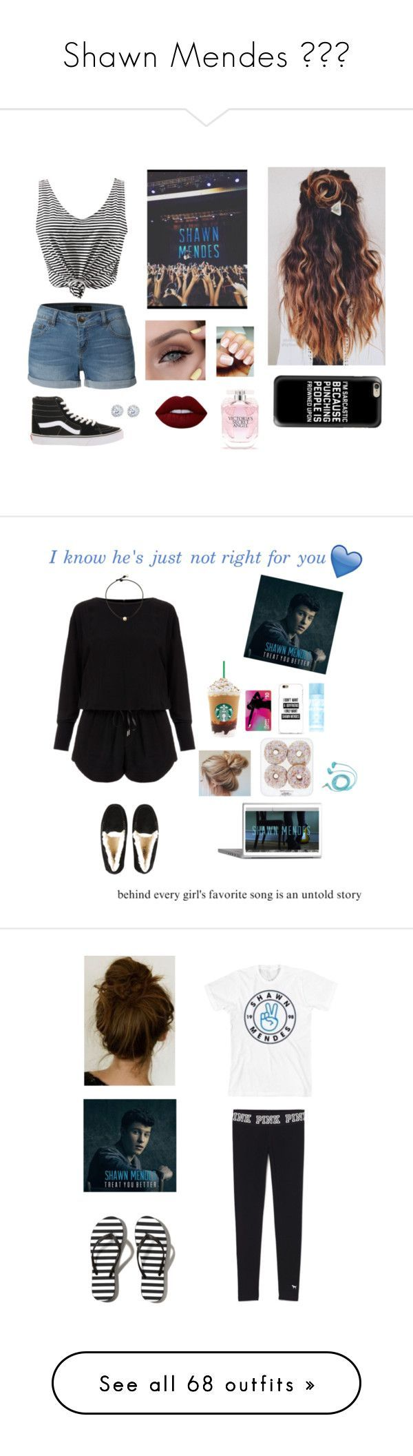 """""""Shawn Mendes ✌️"""" by jiejiebear ❤ liked on Polyvore featuring LE3NO, Vans, Casetify, Lime Crime, Victoria's Secret, Kobelli, tumblr, shawnmendes, Helmut Lang and UGG Australia"""