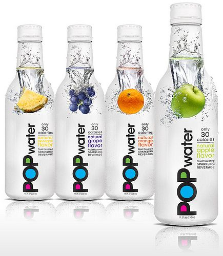 Lady Gaga's POP water (or Pop Water). PD