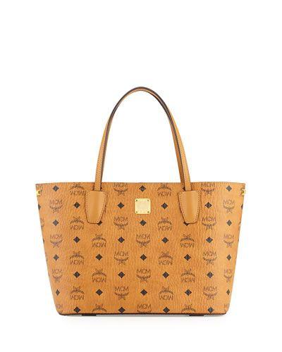 MCM Shopper Project Visetos Shopper Bag, Cognac Earn when you shop and share on haveyouseen.com!