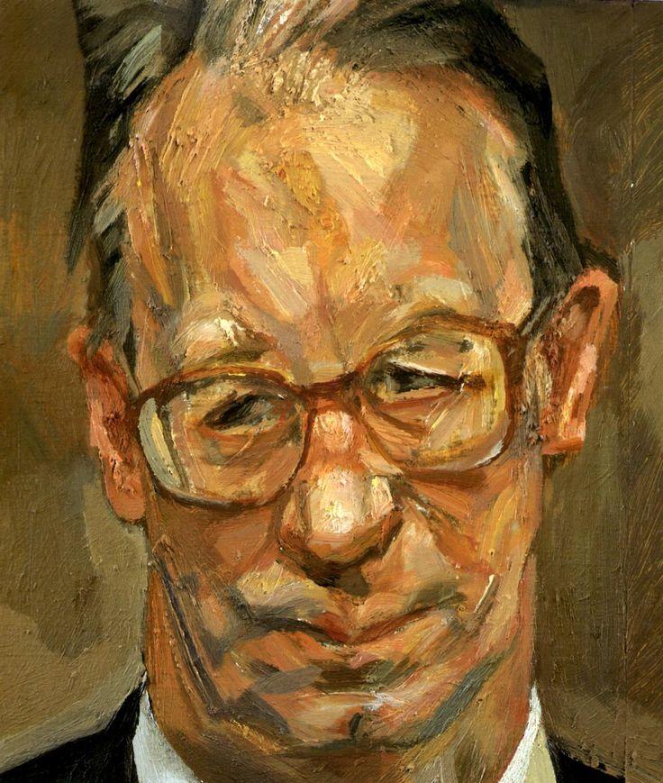 Robert Fellowes, 1999  Lucian Freud