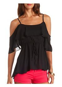 Stylish Tops - Sweaters, Tunics & Graphic T-Shirts: Charlotte Russe