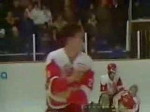 Biggest Hockey Fight Ever - Canada vs Russia 1987