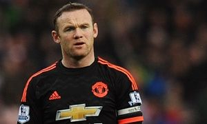 Wayne Rooney ruled out for up to two months with knee ligament damage