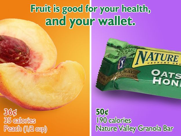 17 best fruits and veggies good for your wallet and health 11 kinds of junk food that cost almost twice as much as something healthier http forumfinder Gallery