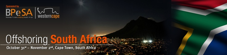 EVENT NEWS: Inaugural Offshoring South Africa Summit to be held at The Table Bay Hotel in Cape Town.  The Offshoring South Africa Summit, will take place between 31 October 2012 and 01 November 2012 at The Table Bay Hotel based at the V & A Waterfront. This bespoke event will not only uncover why Cape Town is a strong contender as an outsourcing location but will also address how to collectively overcome outsourcing challenges faced on the international stage.