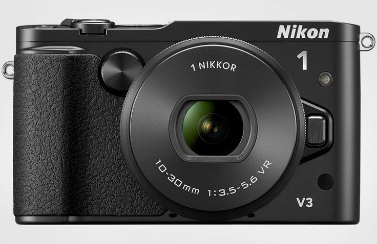 Nikon's 1 series has bolstered up its offerings with the new V3. The compact interchangeable lens camera boosts up performance with an 18 MP sensor and new image processing chip that can shoot continuously at up to 20 fps with autofocus. The 1080/60p movie mode can shoot 120 fps slow-motion video at 720p, and its built in WiFi keeps this camera socially active. The V3 also sports a tilting 3-inch touchscreen LCD, and looks to be available in April. ($1200)