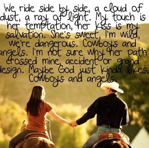 Cowboys And Angels- Dustin Lynch | Lyrics | Pinterest