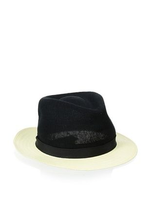 63% OFF Kangol Luxe Men's Connect Arnold (Black/ White Brim)