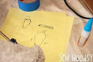Halloween Rustic Wood Coffin | Sew Woodsy