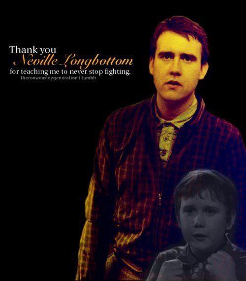 Day 4: Favorite Hogwarts student, Neville Longbottom.