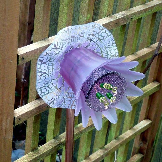 Preliminary Plate flower adhesive results - Garden Junk Forum - GardenWeb