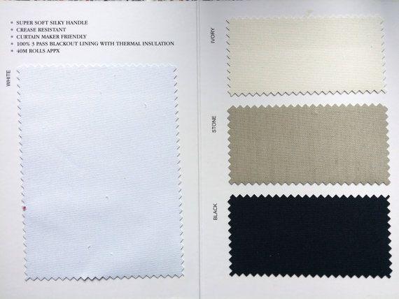 3 pass thermal blackout block out sunlight curtain lining fabric supplies wholesaler UK