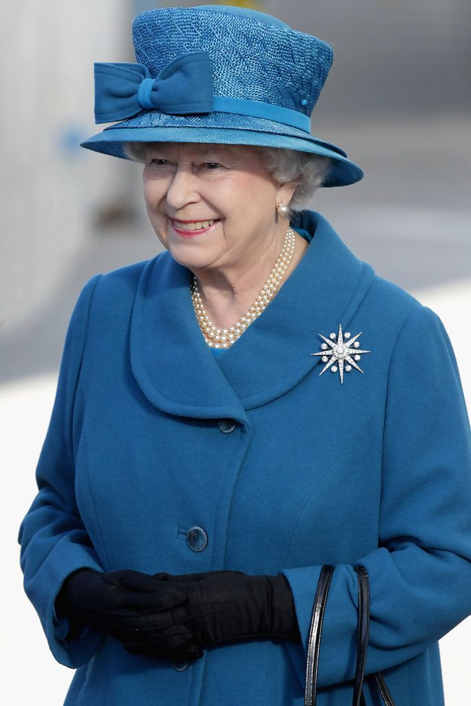 Queen Elizabeth II Photos: Queen Elizabeth Names New Cunard Vessel - Ceremony