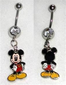 Someone better buy me a Disney belly button ring someday! OMG I want to get my belly button pierced just for this
