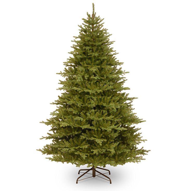 8ft Smokey Mountain Fir Feel-Real Memory-Shape Artificial Christmas Tree
