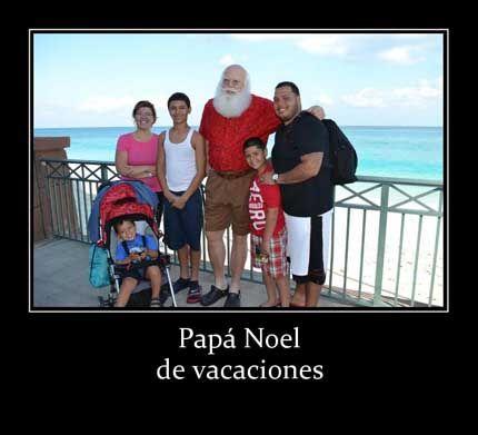 Papa Noel, Portal de humor gratis con fotos divertidas. imágenes para para compartir con tus amigos y contactos