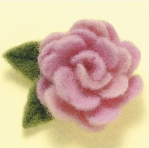 Needle Felting- Flower