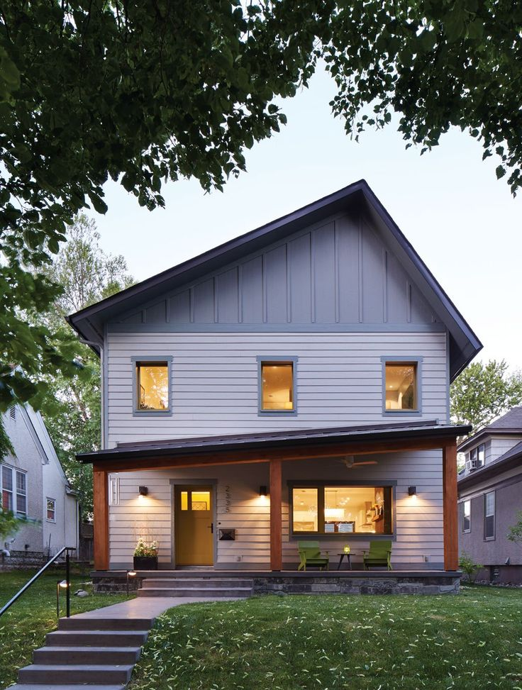 best midwest home design. Modern and whimsical exterior with angled porch 101 best Exteriors  Midwest Home Magazine images on Pinterest