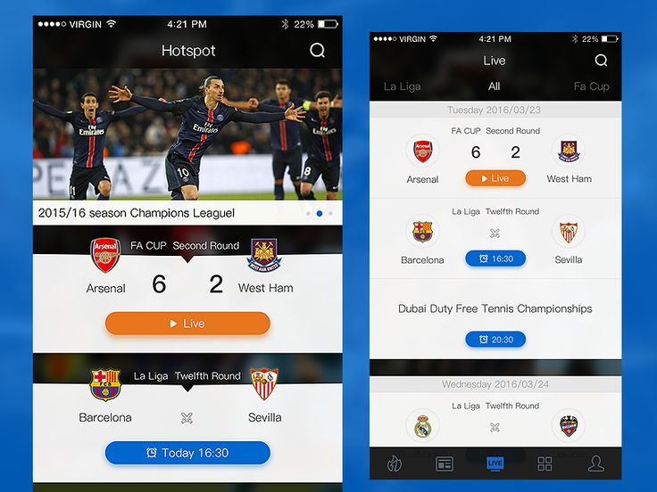 Sport app by keble