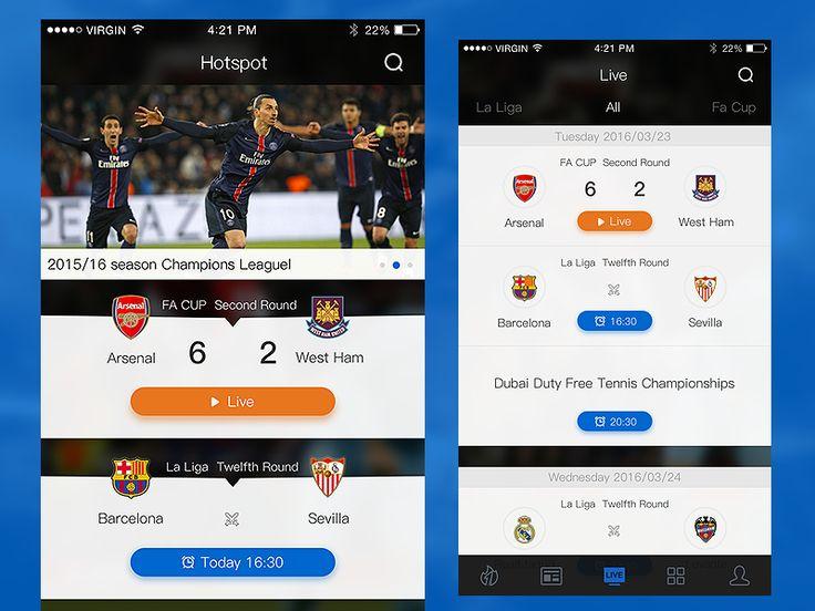 Sport app by keble