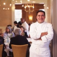 Chef Emeril Lagasse is the chef/proprietor of 12 restaurants, including three in New Orleans (Emeril's, NOLA and Emeril's Delmonico); four in Las Vegas (Emeril's New Orleans Fish House, Delmonico Steakhouse, Table 10 and Lagasse's Stadium); two in Orlando (Emeril's Orlando and Tchoup Chop); and three at the Sands Casino Resort Bethlehem in Pennsylvania (Emeril's Italian Table, Emeril's Chop House and Burgers and More by Emeril).