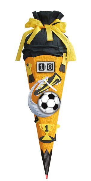 Schultüten - Schultüte Bastel-Set SOCCERod. fertig gebastel - ein Designerstück von kreativ-was-sonst bei DaWanda