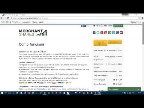 MERCHANT SHARES CONHECA E SE CADASTRE