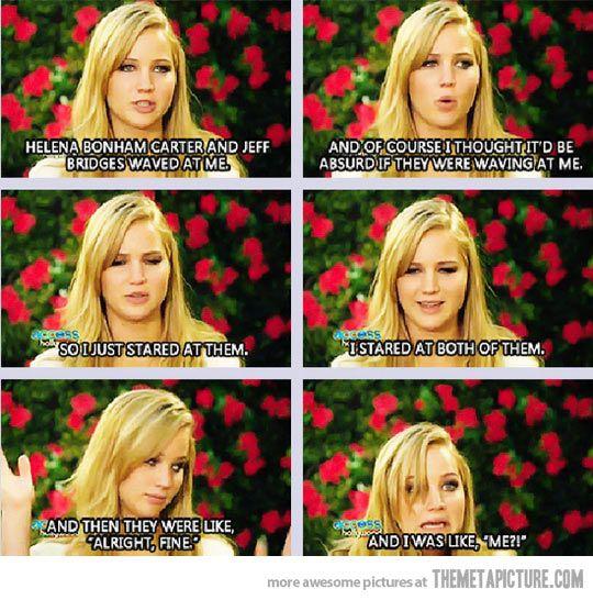 Jennifer Lawrence...