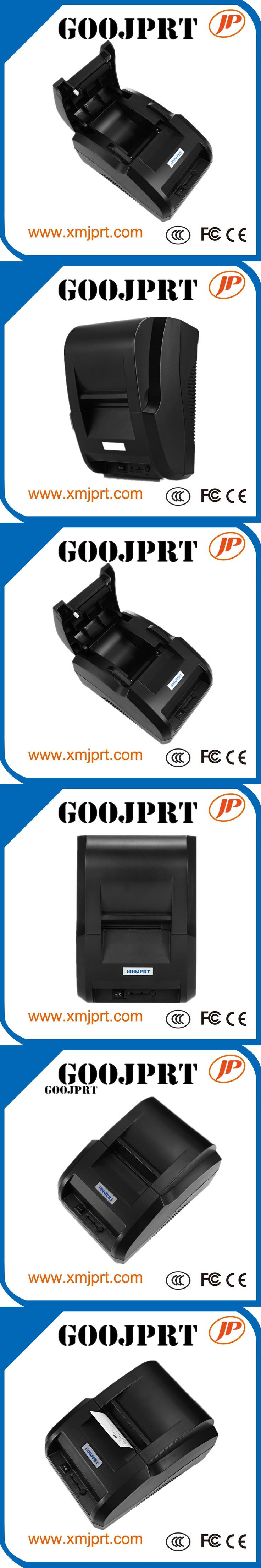 Desktop 58mm Thermal Printer for Windows Android ios Bluetooth printer Thermal Printer Receipt for Android