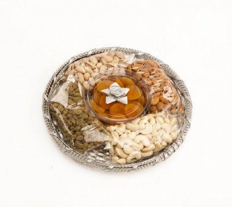 "Gold Supreme Dry Fruit 800g (W M Basket 10"") at Rs.1200 online in India."