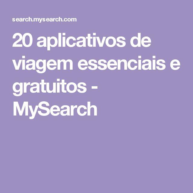 20 aplicativos de viagem essenciais e gratuitos - MySearch
