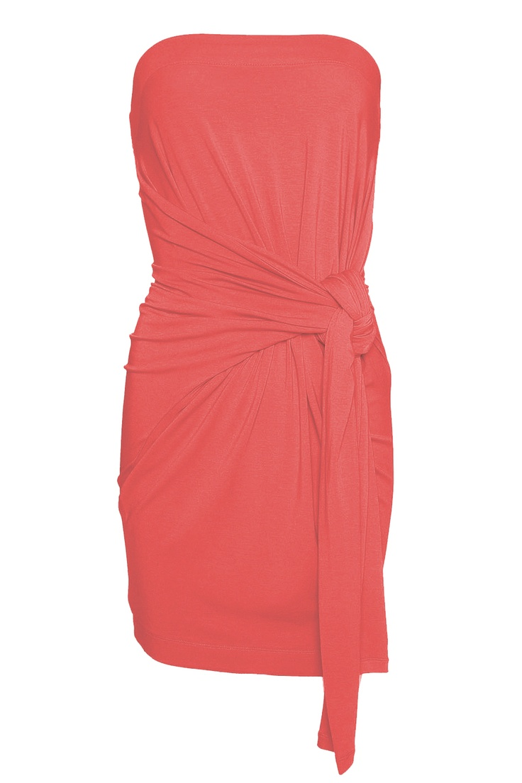 Thousandways Dress Hot Coral - Jurken online - Shop online - SuperTrash