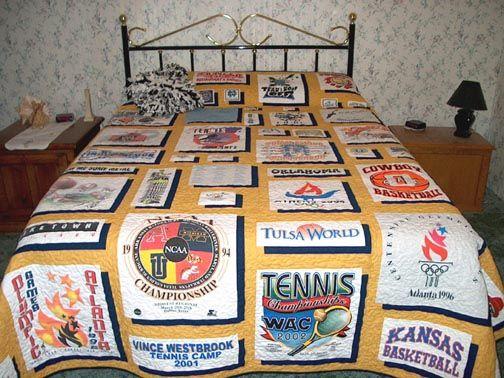 149 best Quilts...T-Shirts Ideas images on Pinterest   Stitching ... : tshirt quilt ideas - Adamdwight.com