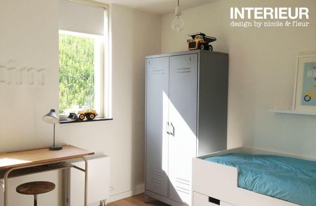 Slaapkamer voor een stoere kleuter interieurstylist portfolio 39 s for Slaapkamer decoratie voor volwassenen