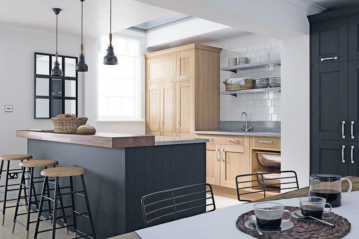 Linda Barker shaker kitchen from Wren Living