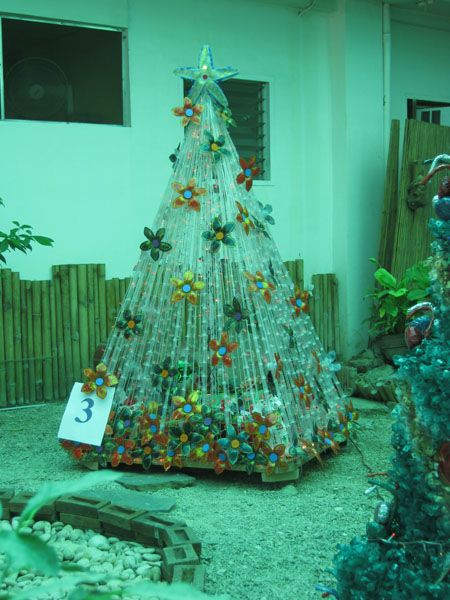 Panabo City Eco Friendly Christmas Tree Clever Ideas
