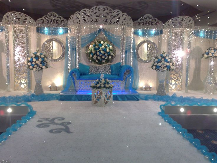 Over the top decorations but kind of pretty wedding for Cheap decorating ideas for wedding reception tables
