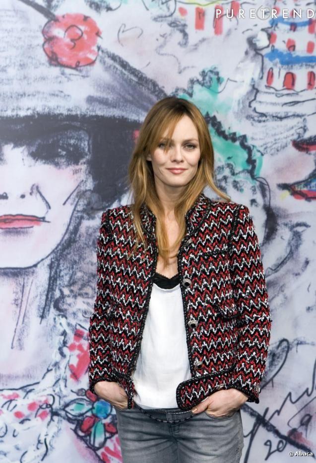 Vanessa Paradis in Chanel