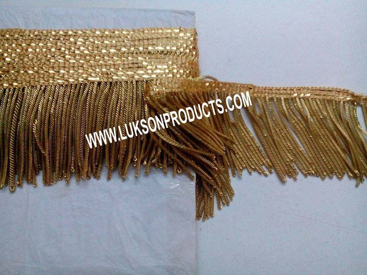 Hand made Fringe. More: www.luksonproducts.com