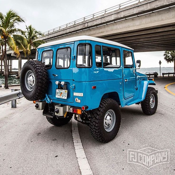 1978 Toyota Land Cruiser FJ40 Sky Blue.